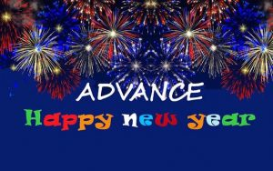 Advance happy New Year 2019