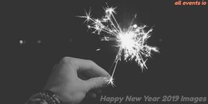 Happy new year 2018 images black and white