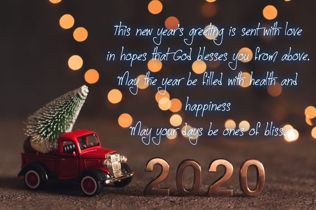 Happy New Year 2020 Greetings