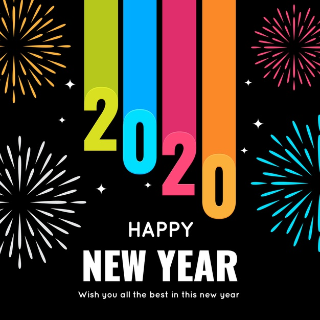 happy new year 2020 hd pic